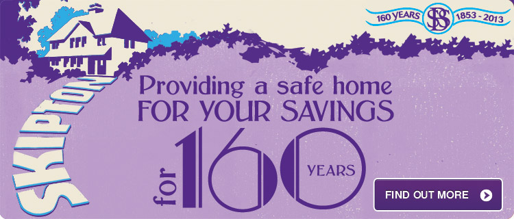 Providing a safe home for your savings for 160 years